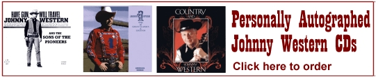Order Johnny Western CDs